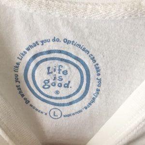 Life Is Good Tops - Life is Good Crewneck